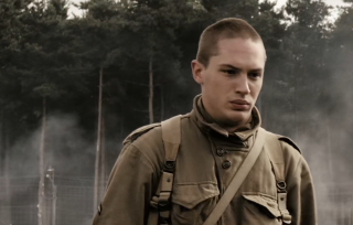 Tom Hardy in Band of Brohers