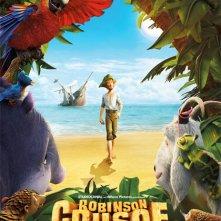 Locandina di Robinson Crusoe