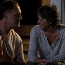 The Walking Dead: Jason Douglas e Melissa McBride in una foto tratta da Not Tomorrow Yet
