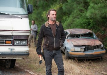 The Walking Dead: Andrew Lincoln è Rick in Not Tomorrow Yet