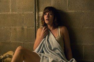 10 Cloverfield Lane: Mary Elizabeth Winstead in una scena del film