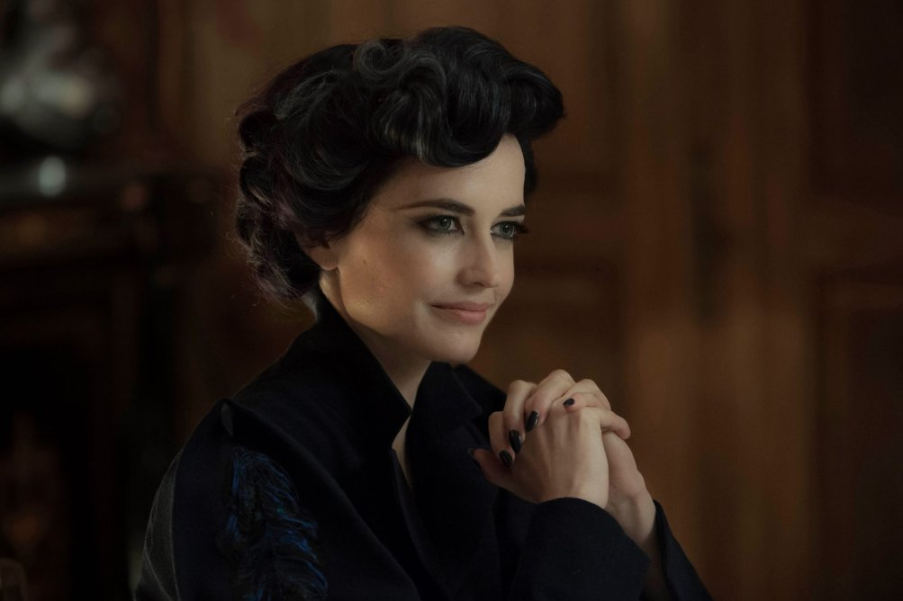 Miss Peregrine's Home for Peculiar Children: l'attrice Eva Green in un bel primo piano