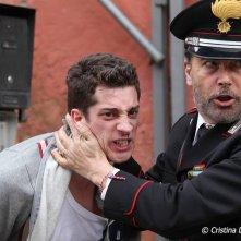 Abbraccialo per me: Moisè Curia e Paolo Sassanelli in una scena del film