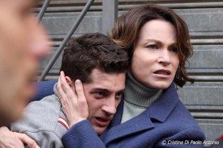 Abbraccialo per me: Moisè Curia e Stefania Rocca in una scena del film