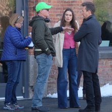 Collateral Beauty: Edward Norton e Keira Knightley col regista David Frankel