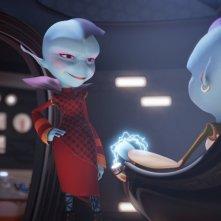Fuga dal pianeta Terra: una scena del film animato
