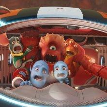 Fuga dal pianeta Terra: un'immagine del film animato