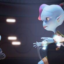 Fuga dal pianeta Terra: una scena del film d'animazione