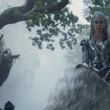 Il cacciatore e la regina di ghiaccio: Emily Blunt in una scena del film