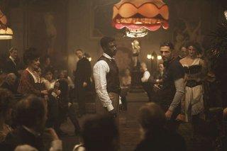 Mister Chocolat: il regista Roschdy Zem e Omar Sy al lavoro sul set