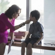Nemiche per la pelle: Claudia Gerini e Jasper Cabal sul set del film