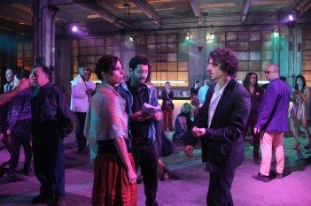 Sin hijos: Maribel Verdú, Diego Peretti e il regista Ariel Winograd sul set del film