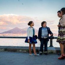 Troppo napoletano: Gennaro Guazzo, Luigi Esposito e Serena Rossi in una scena del film