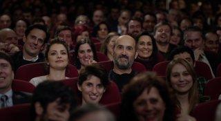 Truman: Javier Cámara e Dolores Fonzi al cinema in una scena del film