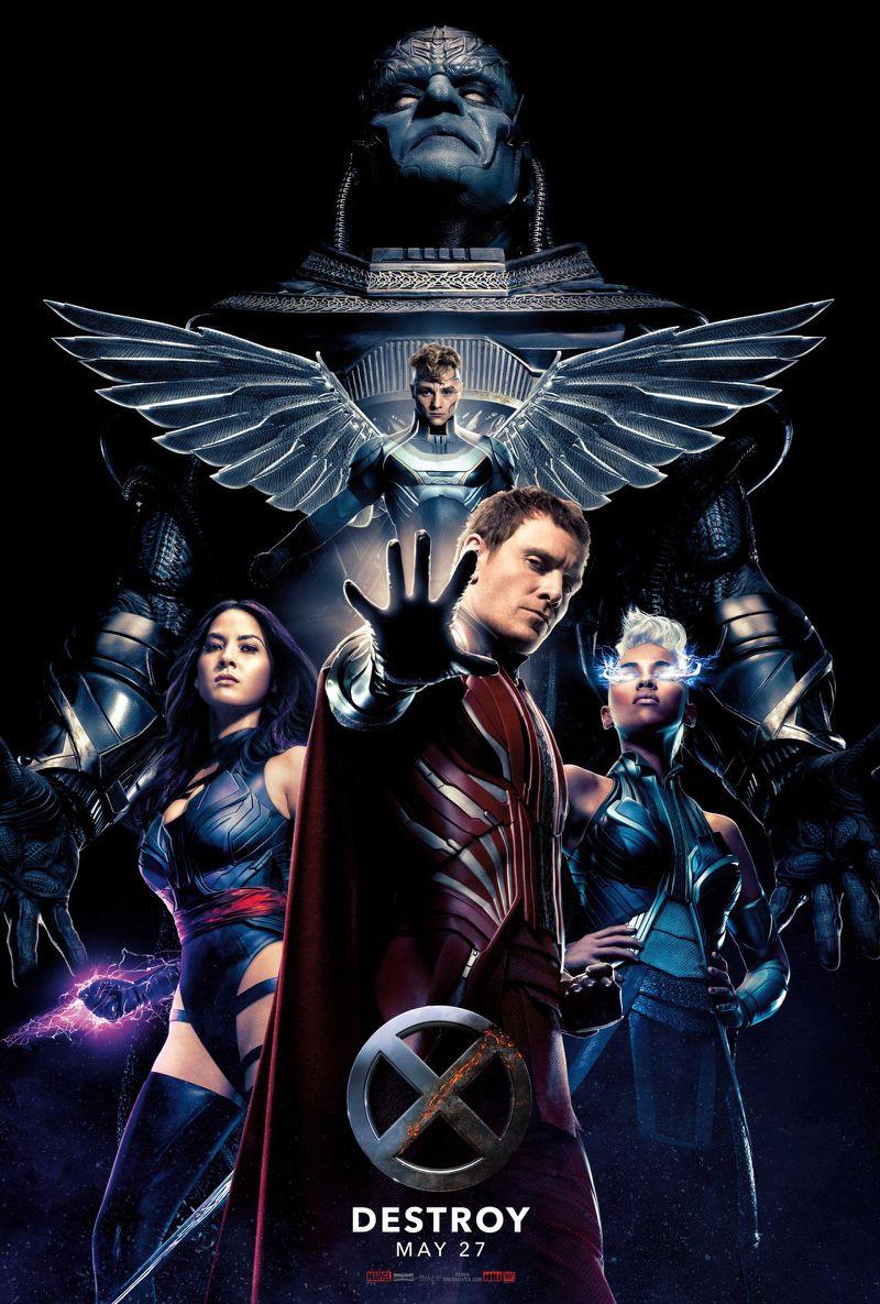 X-Men: Apocalypse - Una locandina dedicata ai villain