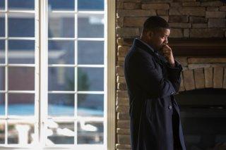 Zona d'ombra - Una scomoda verità: un pensieroso Will Smith in una scena del film