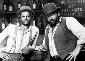 Bud Spencer e Terence Hill in un film
