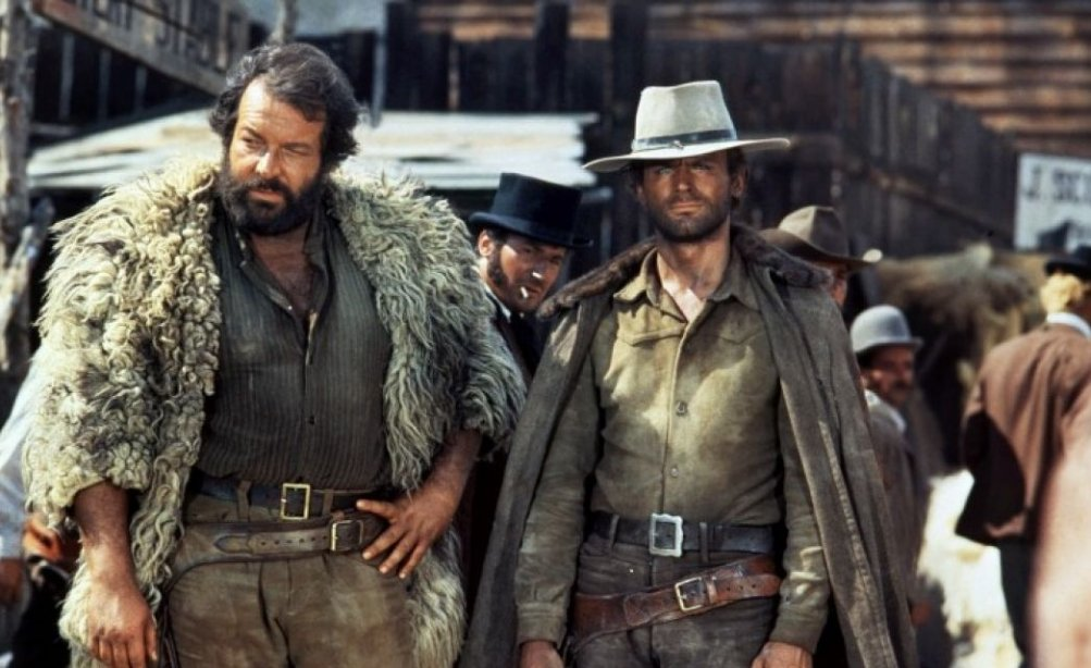 Bud Spencer e Terence Hill in Dio perdona... io no!
