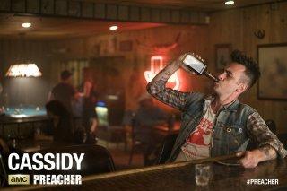 Preacher: l'attore Joseph Gilgun in una foto promozionale