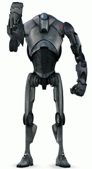 Un droide di Star Wars