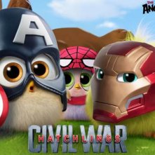 Angry Birds - Il Film - I pulcini in versione Captain America: Civil War