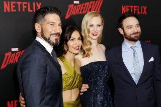 Daredevil: Jon Bernthal, Elodie Yung, Deborah Ann Woll e Charlie Cox alla première della seconda stagione