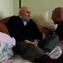 Rino - La mia ascia di guerra: Rino Bonalumi e il regista Andrea Zambelli sul set del documentario