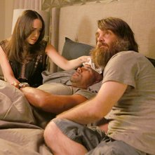 The Last Man on Earth: Cleopatra Coleman, Boris Kodje e Will Forte nella puntata Silent Night
