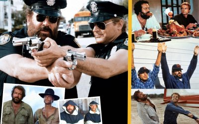 Bud Spencer e Terence Hill: un video per scoprire i segreti della loro carriera