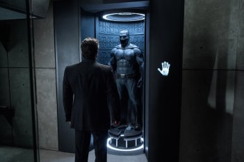 Batman v Superman: Dawn of Justice, Ben Affleck in un'immagine tratta dal film