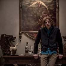 Batman v Superman: Dawn of Justice, Jesse Eisenberg in un momento del film