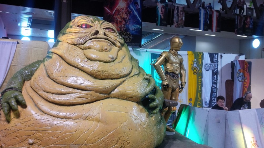 Cartoomics 2016: c'è anche Jabba the Hut