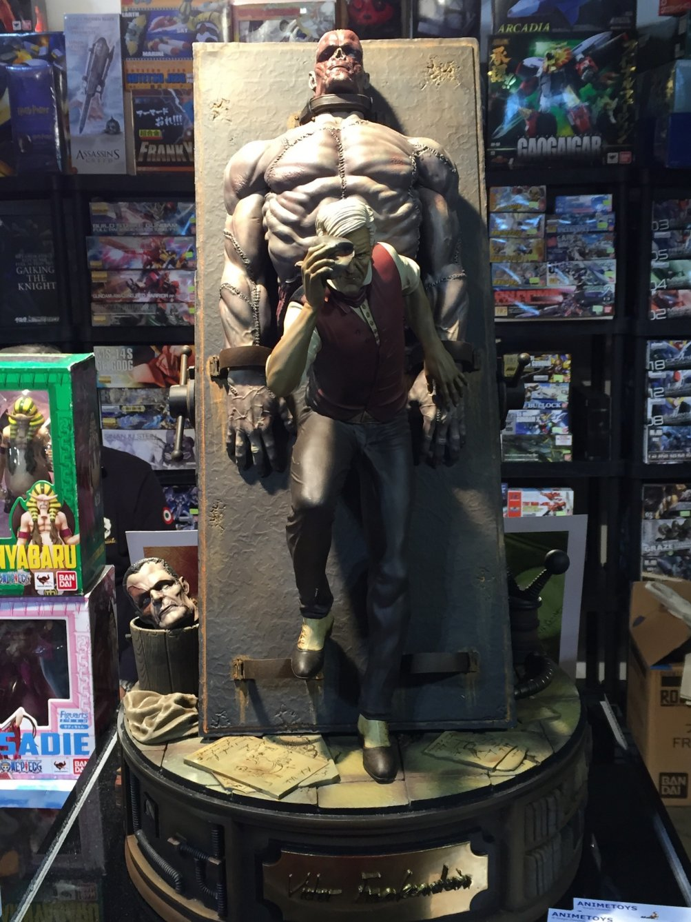 Cartoomics 2016: una action figure dedicata a Frankenstein