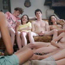 Bang Gang: una scena di gruppo del film
