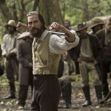 Free State of Jones: Matthew McConaughey in una scena del film