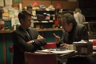 Misconduct: Al Pacino e Josh Duhamel in una scena del film