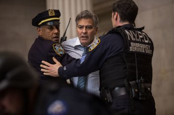Money Monster: George Clooney in una scena del film