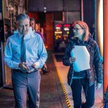 Money Monster: George Clooney e la regista Jodie Foster sul set del film