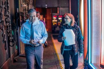 Money Monster: George Clooney e la regista Jodie Foster sul set del film