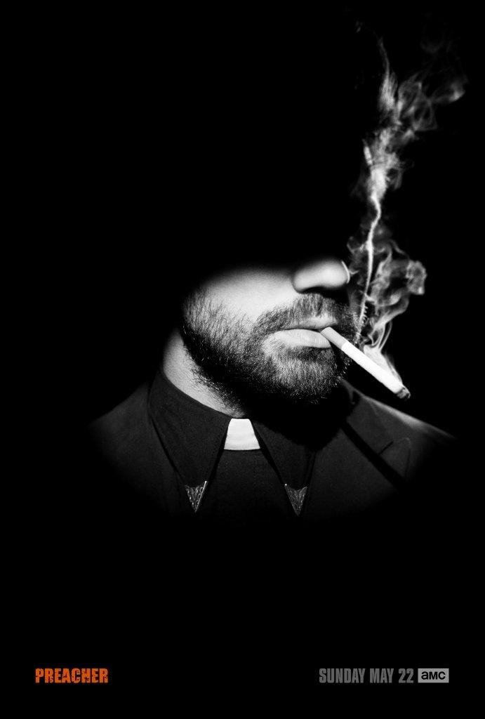 Preacher: il poster della serie della AMC