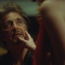 Salomé: Al Pacino e Jessica Chastain (di spalle) in una scena del film