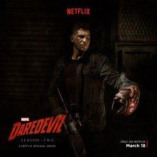 Daredevil: una foto promozionale di Jon Bernthal