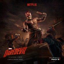 Daredevil: una foto promozionale del protagonista