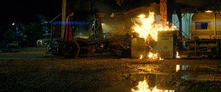 Batman v Superman: i due eroi in una scena del film