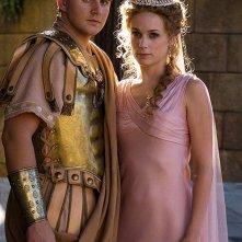 Roma: due dei protagonisti della serie