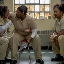 Orange is the New Black: una foto delle attrici Uzo Aduba e Danielle Brooks