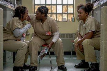 Orange is the New Black: una foto delle attrici Uzo Aduba e Danielle Brooks