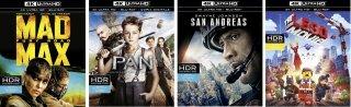 Le cover dei primi 4K Ultra HD