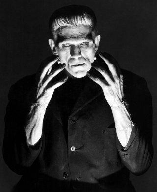 Boris Karloff in Frankenstein del 1931