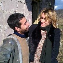Banat - Il viaggio: Edoardo Gabbriellini ed Elena Radonicich in una scena del film